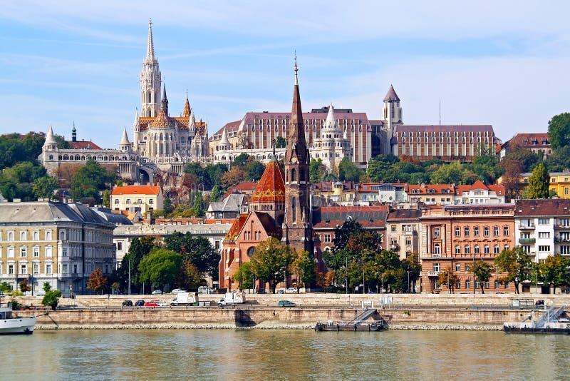 Centre historique de Budapest photo stock