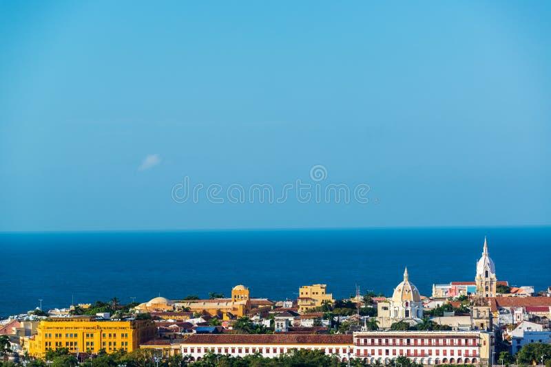 Centre historique de Carthagène photos libres de droits