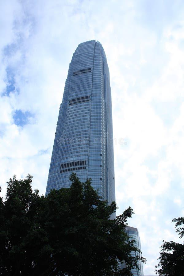 centre internatioal finansowy Hongkong zdjęcia royalty free