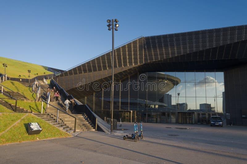 Centre international de congrès MCK de Katowice photographie stock libre de droits