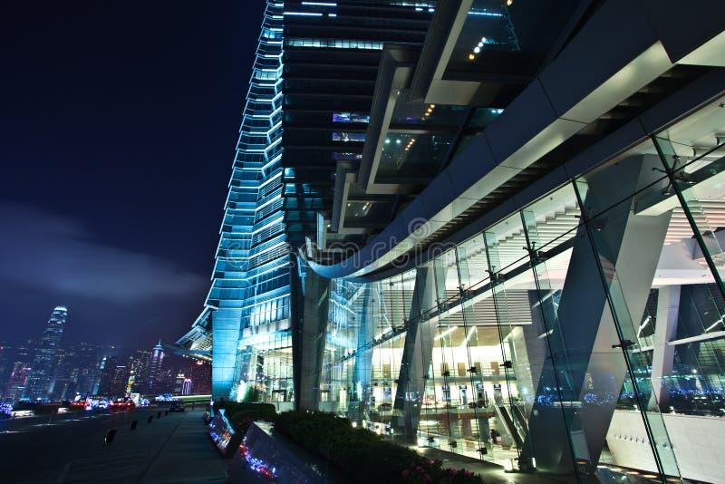 Centre international Kowloon Hong Kong de commerce images libres de droits