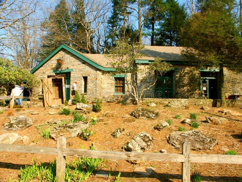 Centre interprétatif de Walasi-YI en Géorgie photo libre de droits