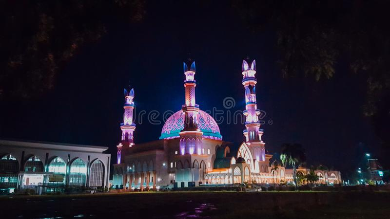 Centre islamique photographie stock libre de droits
