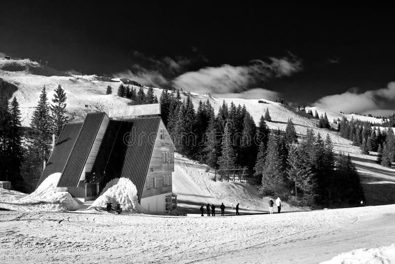 Centre, la Bosnie et Hercegovina de ski de Jahorina image stock