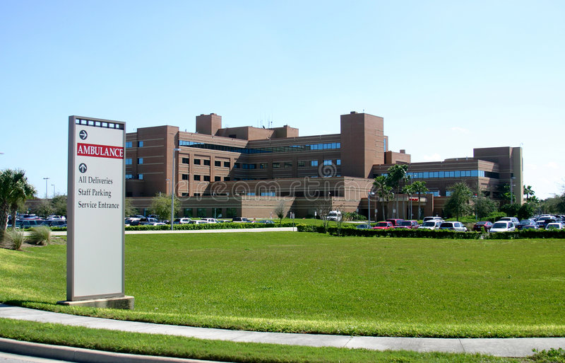 Centre médical images stock