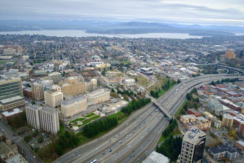 Centre médical de Harborview, Seattle, WA photos stock