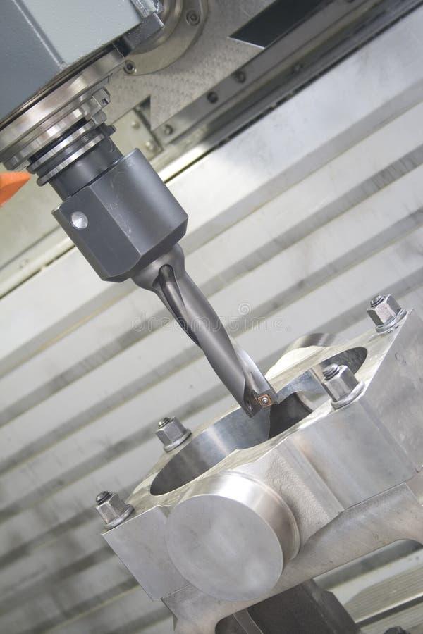centre machining fotografia stock