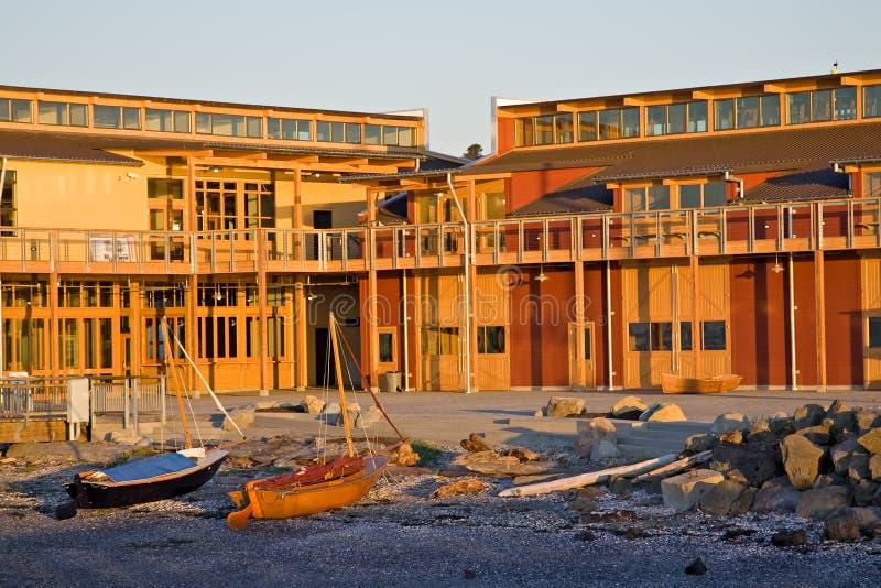 Centre maritime du nord-ouest dans Townsend gauche images libres de droits