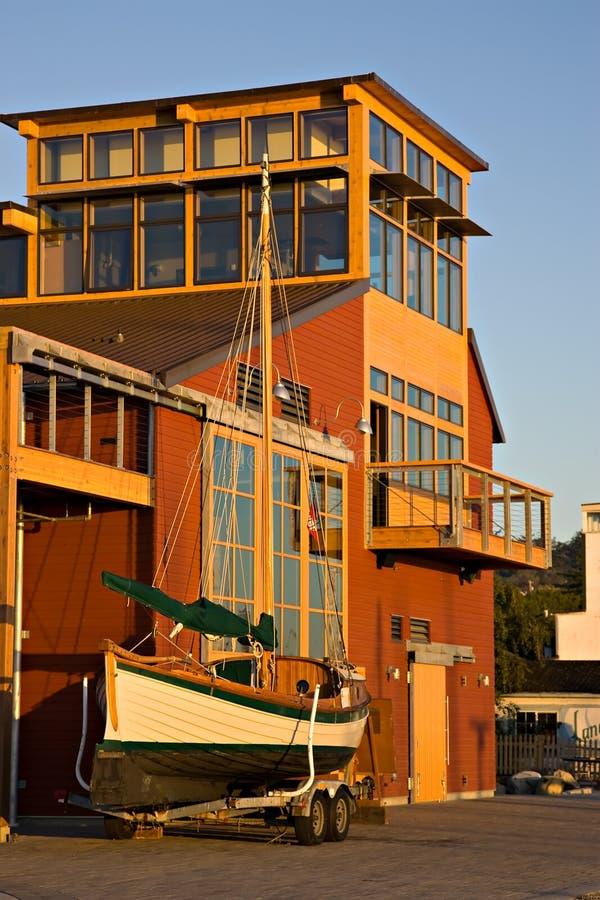 Centre maritime gauche de Townsend photos stock