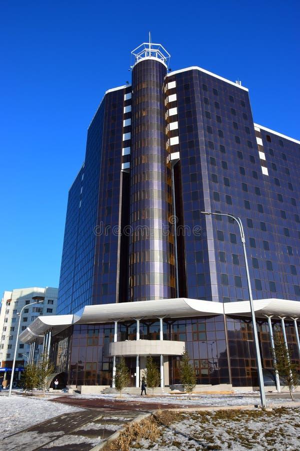 Centre moderne d'affaires à Astana/Kazakhstan photographie stock