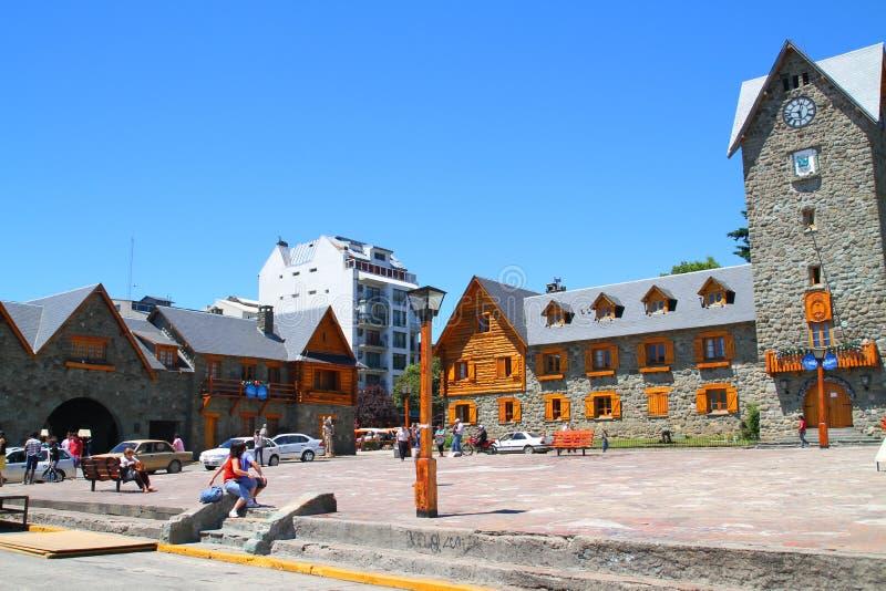 Centre municipal - Bariloche - Argentine images stock
