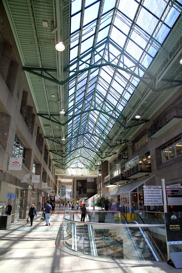 Centre municipal du nord de York image libre de droits