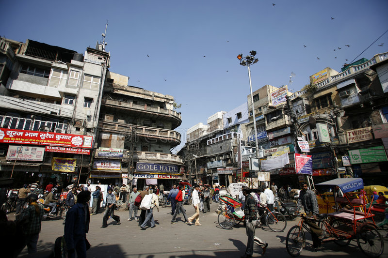 Download Centre Of Old Market, Chandni Chowk Editorial Stock Photo - Image: 4940163