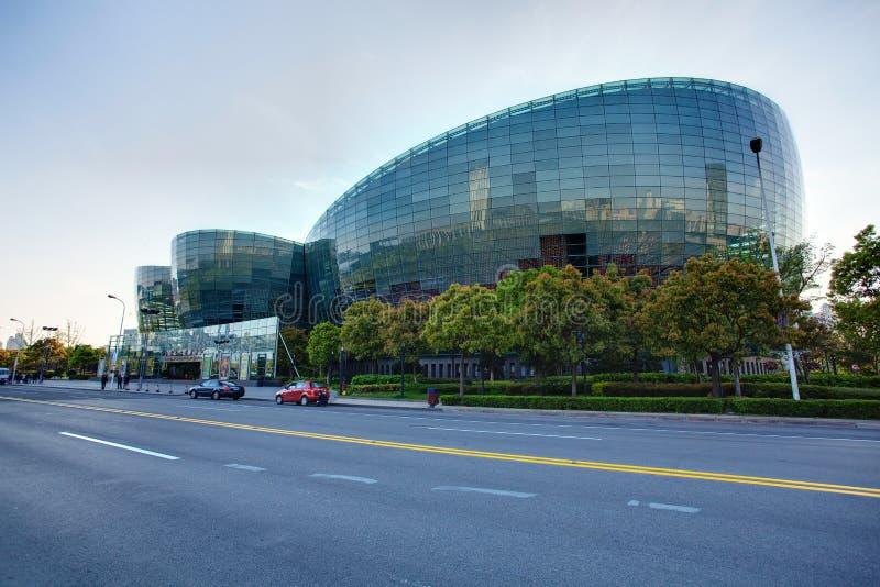 Centre oriental d'art de Changhaï photographie stock libre de droits
