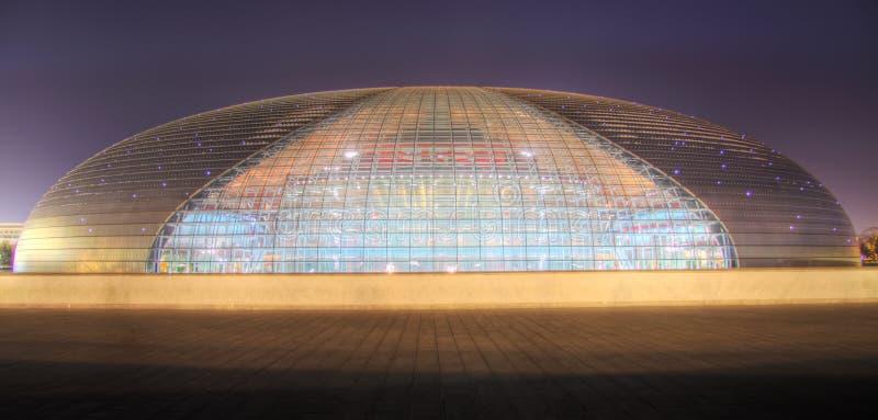 Centre para artes de palco beijing fotografia de stock