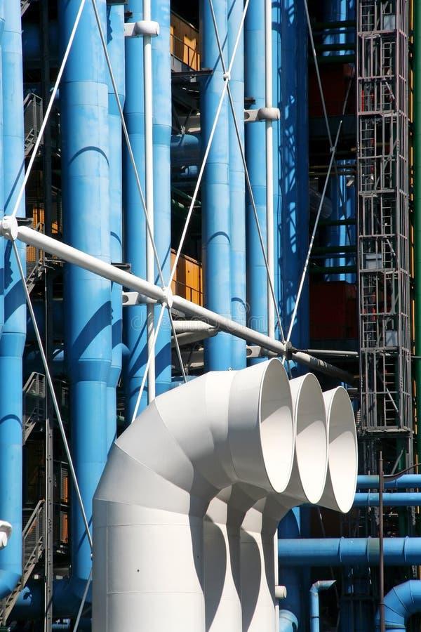 Centre Pompidou royalty-vrije stock fotografie