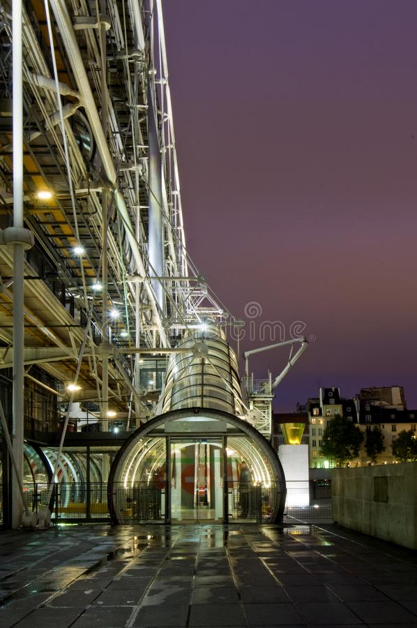Centre Pompidou royalty free stock photos