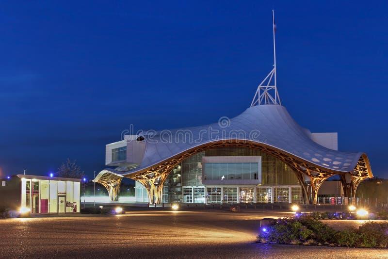 Centre Pompidou-Metz, France photographie stock libre de droits