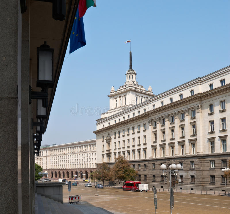 Download Centre Of Sofia, Bulgaria Royalty Free Stock Photography - Image: 26625527