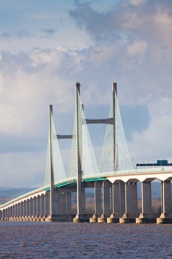 Free Centre Span Of The New Severn Bridge , UK Stock Photography - 11978262