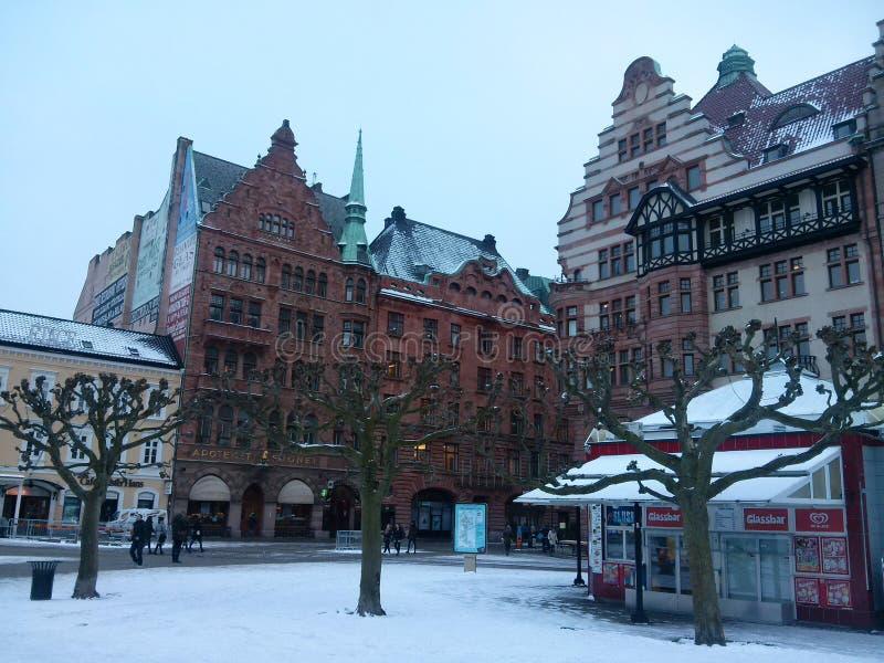 Centre Suède de Malmö images libres de droits