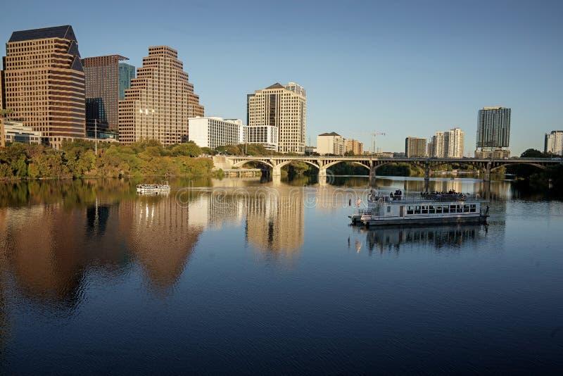 Centre-ville d'Austin photos stock
