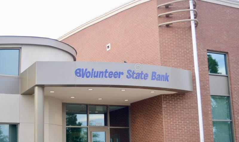 Centre volontaire de finances de banque d'Etat, Murfreesboro, TN photographie stock libre de droits