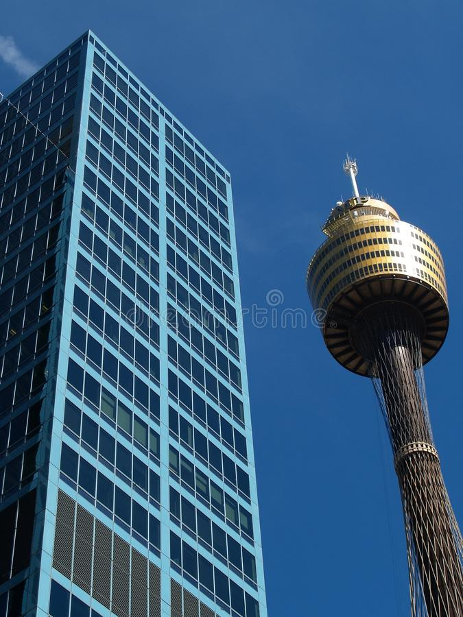 Centrepointtoren, Sydney royalty-vrije stock afbeelding