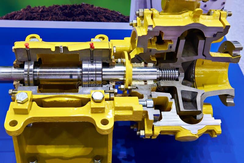 Centrifugal pump för enkel etapp arkivbilder