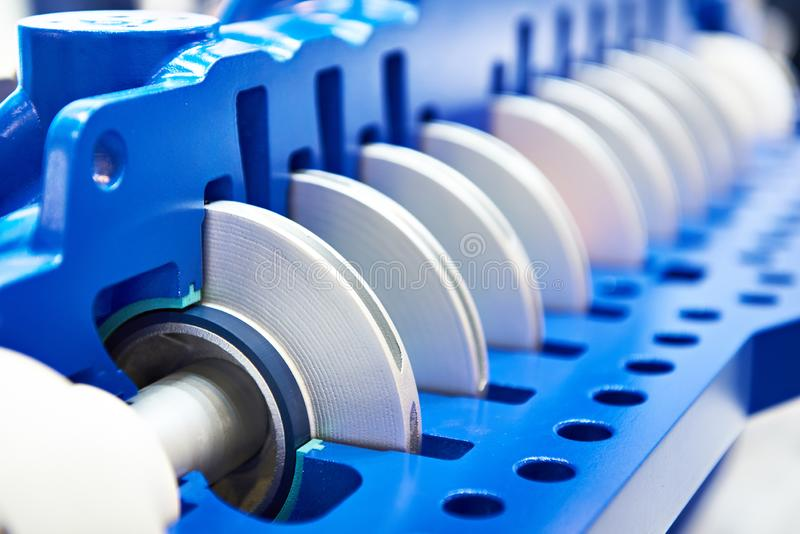 Centrifugal pump for oil. And petroleum products stock image