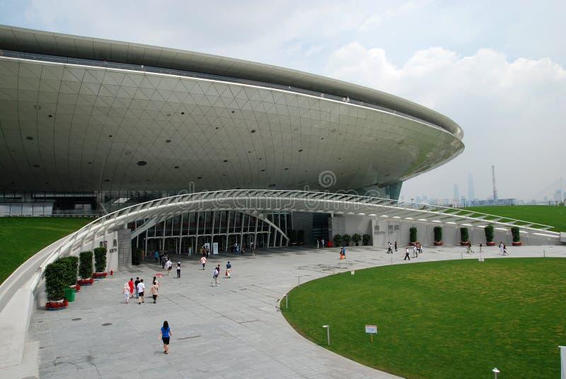 Centro 2010 das artes de palco da expo do mundo de Shanghai imagem de stock