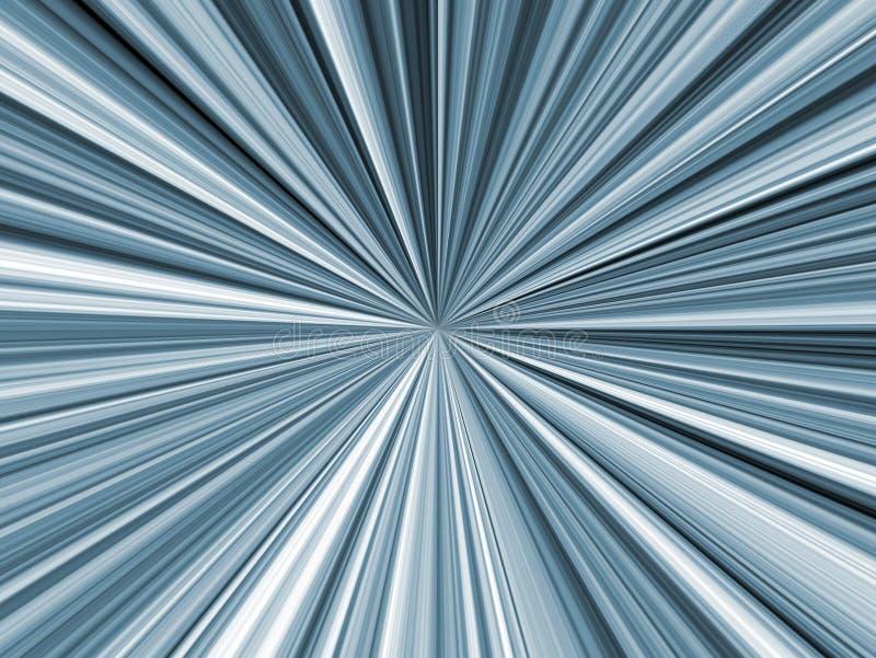 Centro abstracto del fondo ilustración del vector