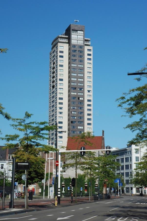 Centro-Alta dama del edificio-Witte del regente de Eindhoven fotos de archivo