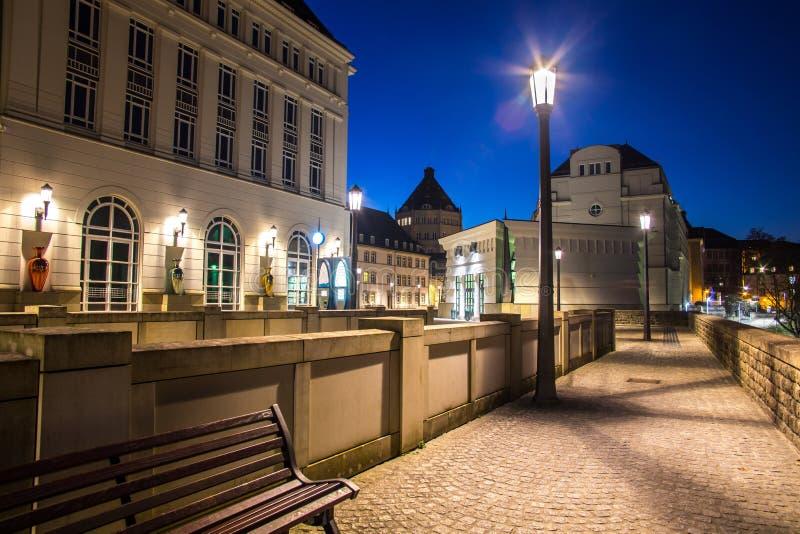 Centro amministrativo della città di Lussemburgo fotografie stock libere da diritti