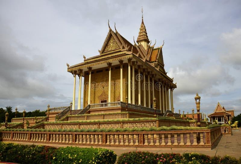 Centro budista cambojano imagens de stock royalty free