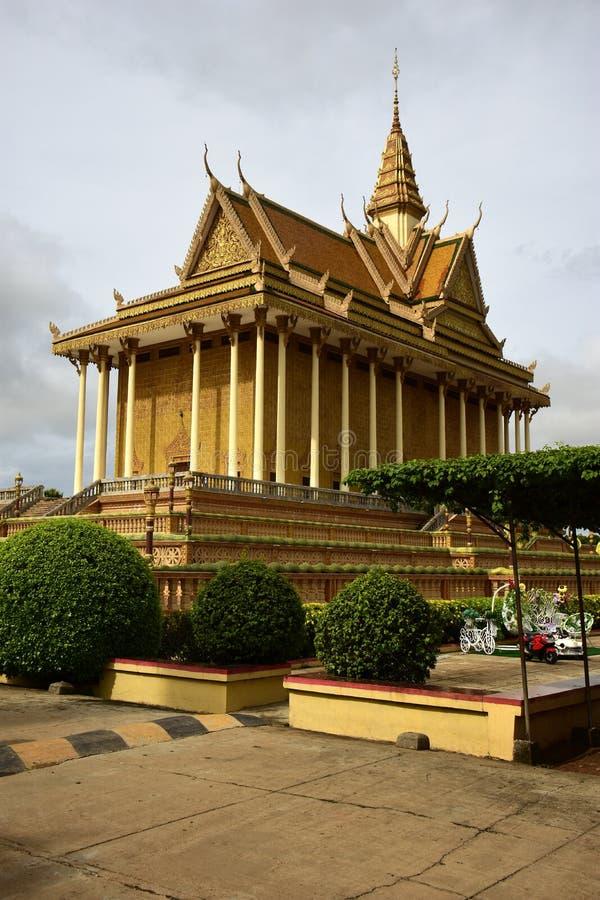 Centro budista cambojano fotografia de stock