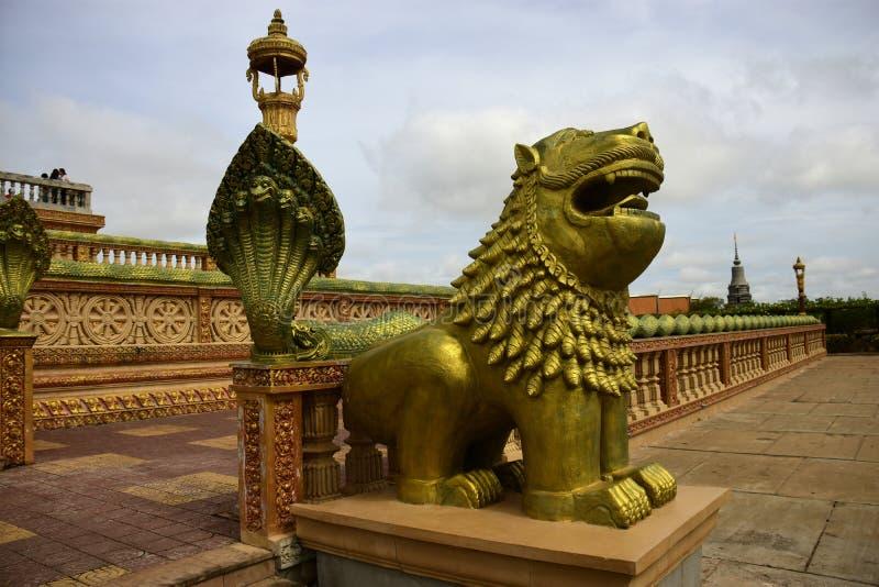Centro budista cambojano foto de stock royalty free