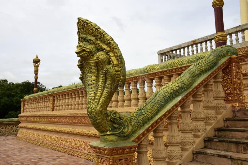 Centro budista cambojano fotos de stock
