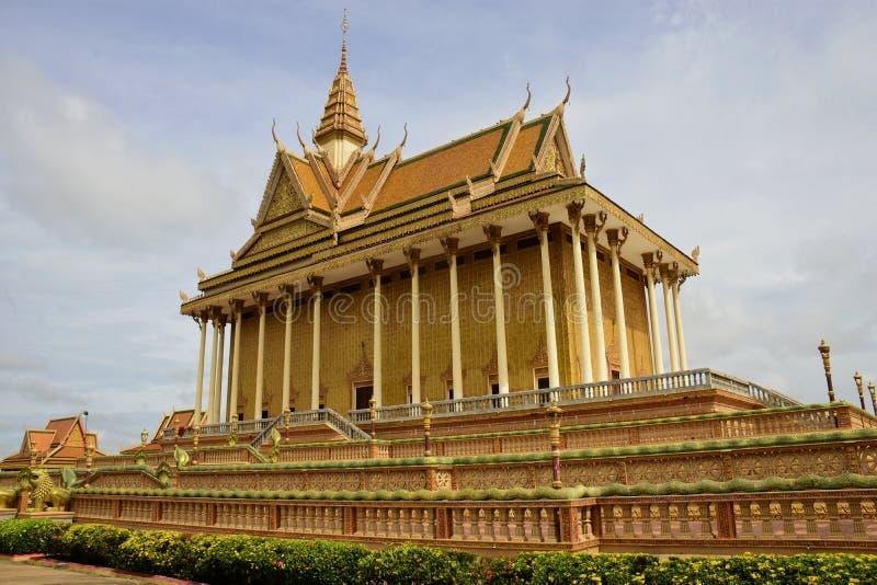 Centro budista cambojano imagem de stock
