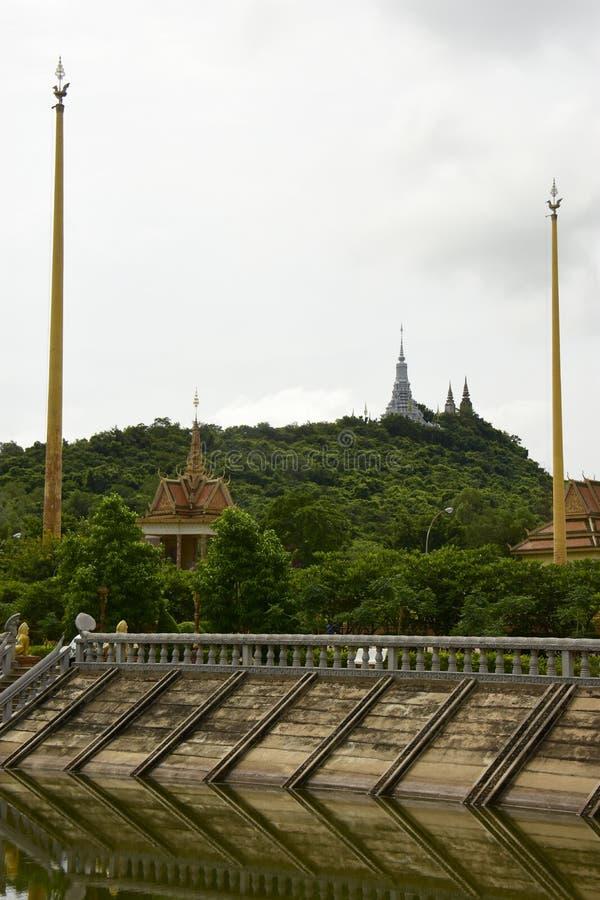 Centro budista cambojano fotos de stock royalty free