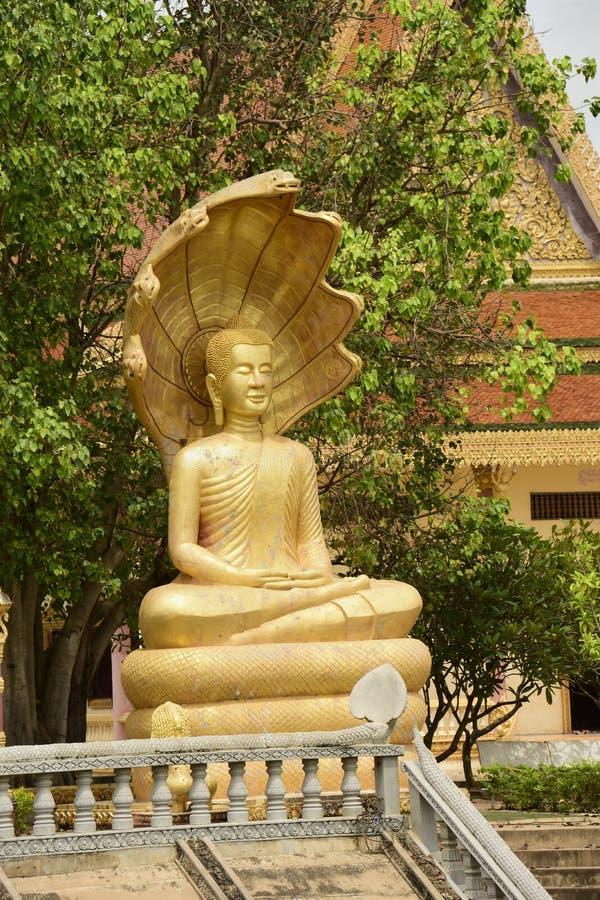 Centro budista cambojano foto de stock