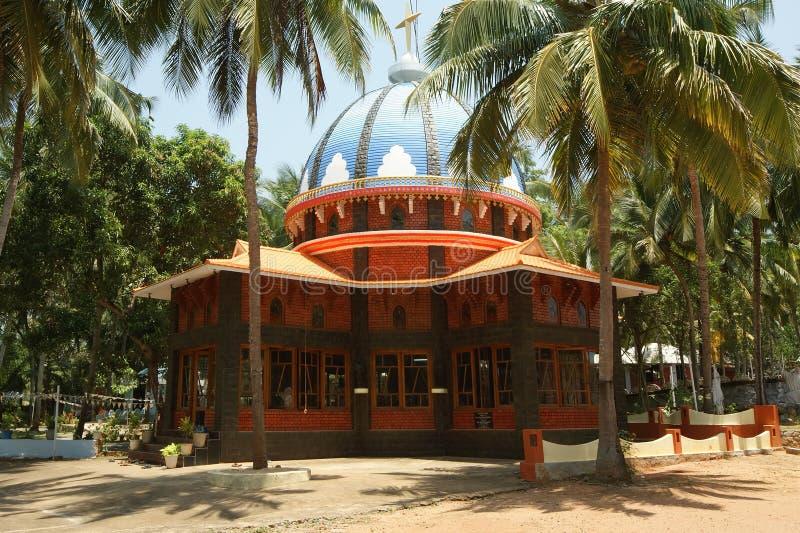 Centro católico da peregrinação Kochi, Kerala, Índia sul fotografia de stock
