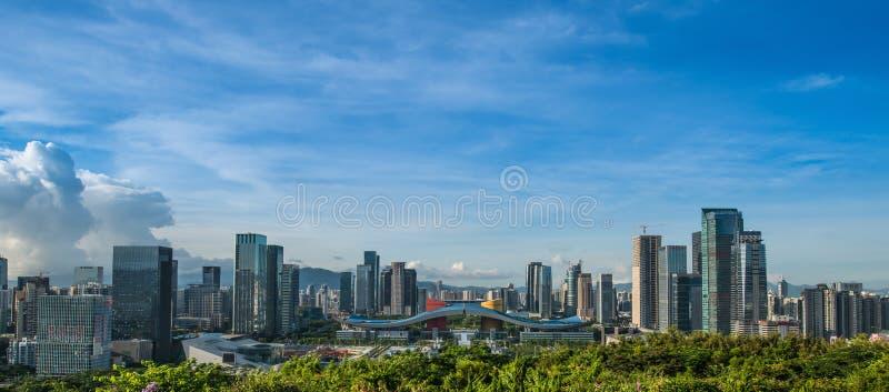 Centro Cittadino CBD Di Shenzhen Immagine Stock Editoriale