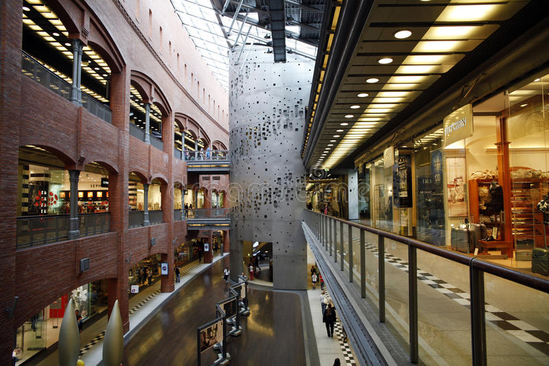 Centro comercial fotos de archivo libres de regalías