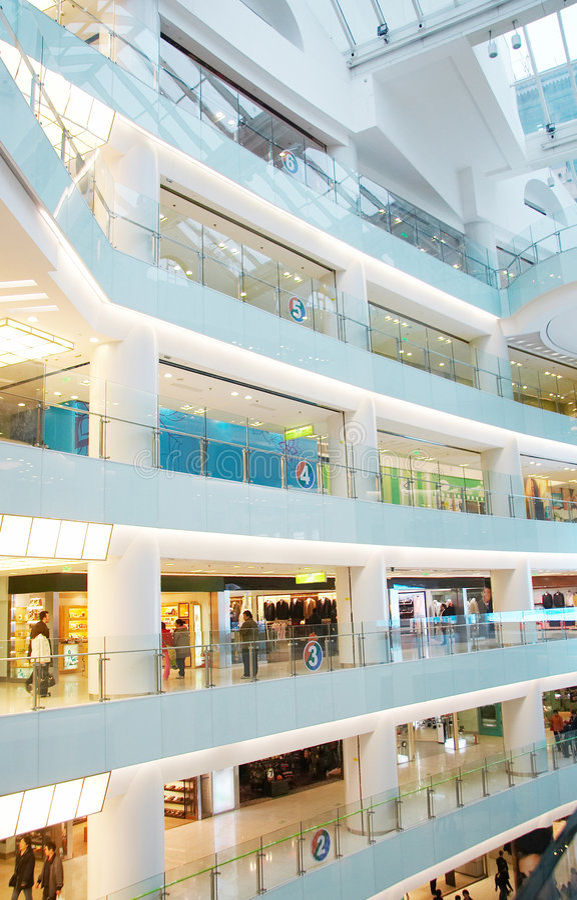 Centro comercial fotos de stock
