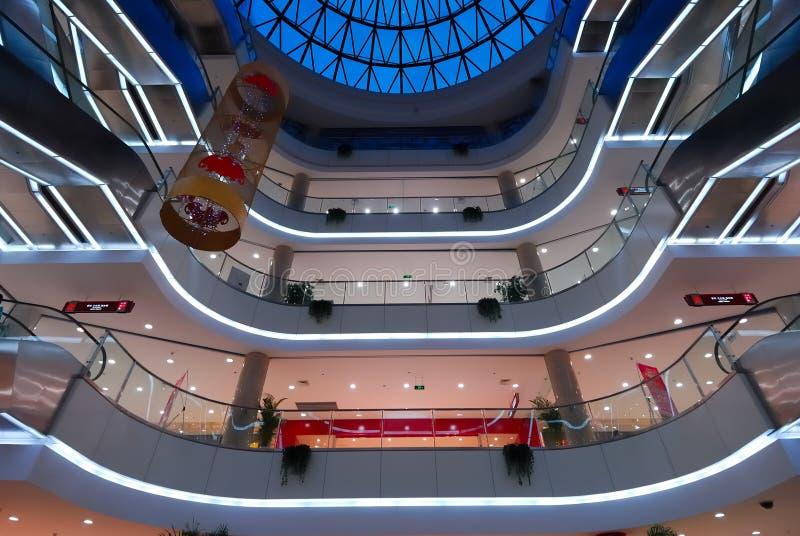 Centro comercial 7 foto de archivo