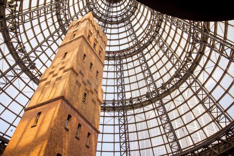 Centro comercial central de Melbourne imágenes de archivo libres de regalías
