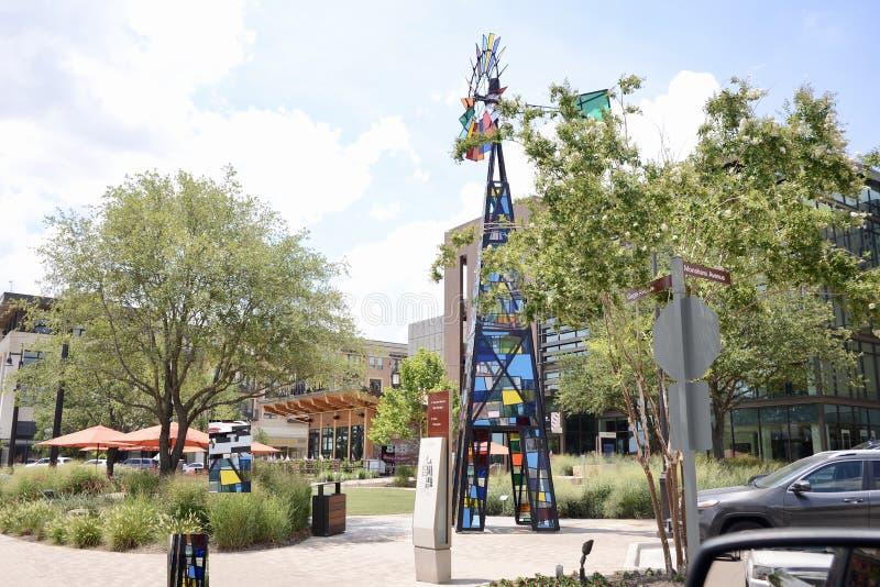 Centro comercial de Clearfork, Fort Worth Tejas fotos de archivo libres de regalías