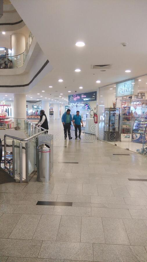 Centro comercial de Durgapur, India imágenes de archivo libres de regalías