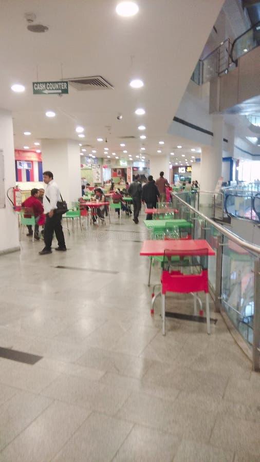 Centro comercial de Durgapur, India foto de archivo